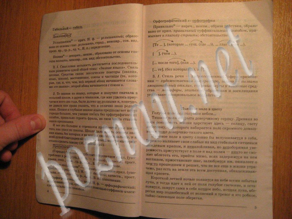 Решебник по русскому языку 11 класс, страница 2
