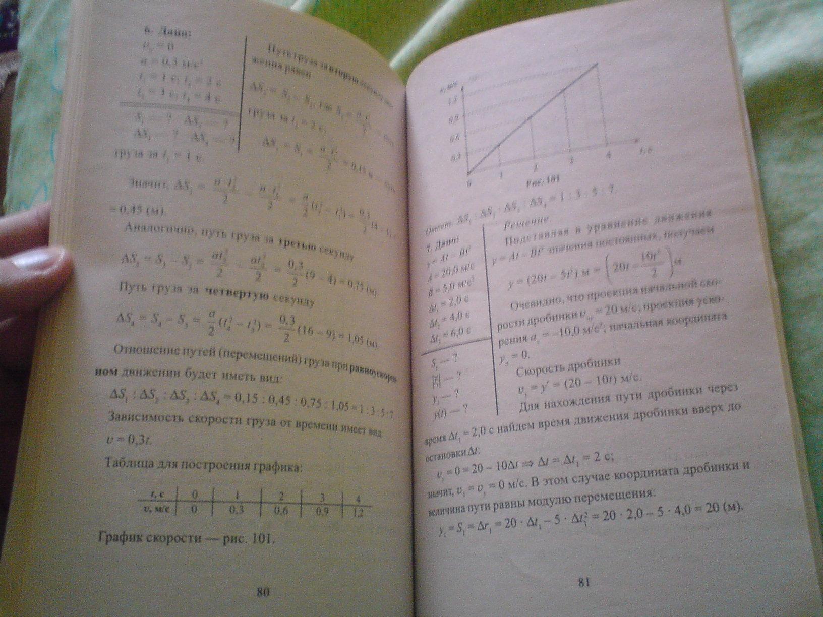 Решебник по физике 9 класс. Страница 45