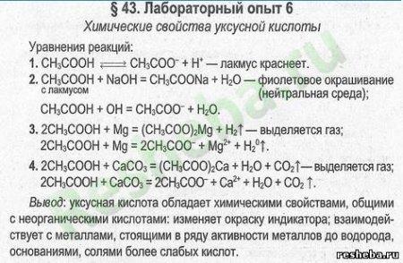 Лабораторные работы по Химии 9 Класс